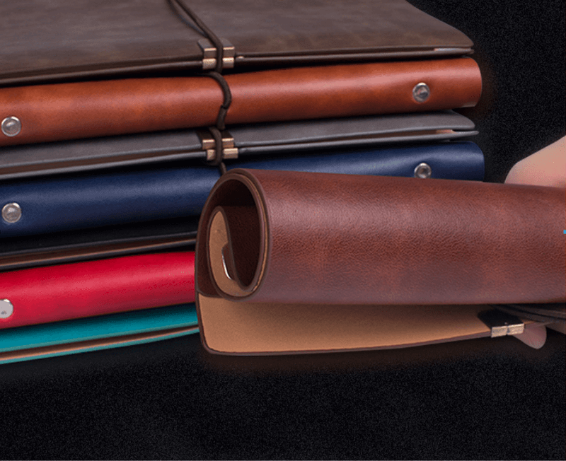 a5 loose leaf notebook soft leather b5 notebook stationery business office notebook12