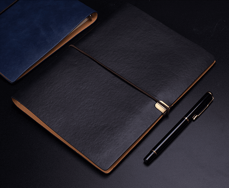 a5 loose leaf notebook soft leather b5 notebook stationery business office notebook13