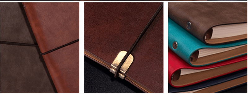 a5 loose leaf notebook soft leather b5 notebook stationery business office notebook7