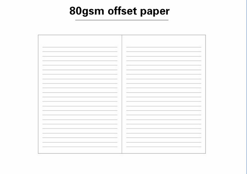 a5 paperback leather notebook cloth pattern student notebook business office notebook7