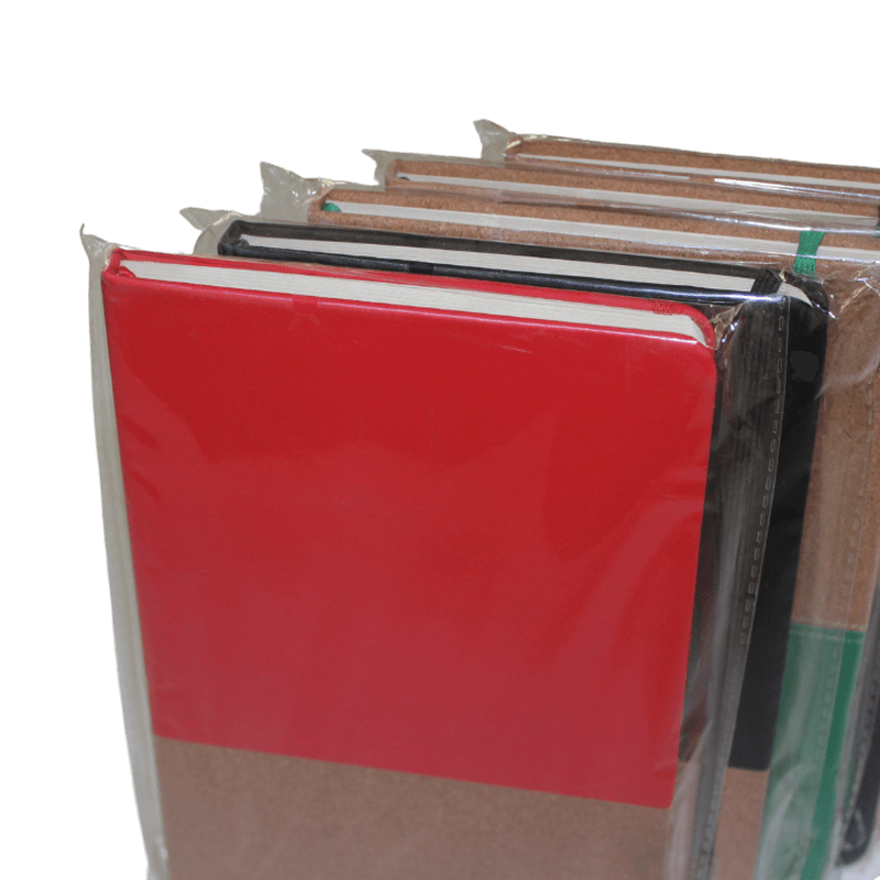 a5 size hardcover notebooks pu and pu connected notepad6