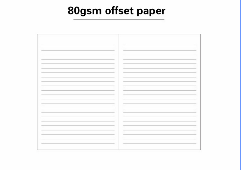 soft surface discoloration pu notebook office supplies super thick notebook notepad meeting book 9